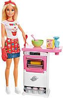Набор кукла Барби кондитер Barbie Bakery Chef Doll and Playset, Blonde