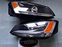 Фара правая 5C7941006 Volkswagen Jetta 11-15 США БУ, фото 1