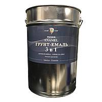 Грунт-эмаль 3 в 1 Алкідно-уретанова Зелена 25 кг по ТУ. ДЕСТу(ГОСТ)