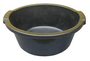 Таз полиэтиленовый 12 литров чёрный (ПолимерАгро, Харьков)