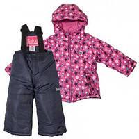 Зимний термокомплект для девочки, сиреневый, Salve by Gusti, размеры 92-128