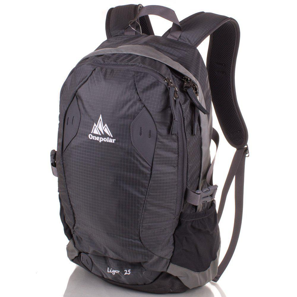 36dccc7fb6ec Мужской спортивный рюкзак ONEPOLAR (ВАНПОЛАР) W1755-grey