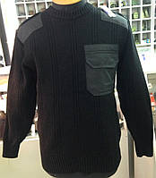 Свитер форменный полиция (чёрный)