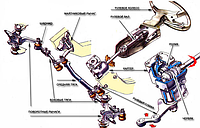 Рулевой наконечник TOYOTA CAMRY (USA) (V50) 09/2011- (лев.), Q-TOP (Испания)  QN00133P
