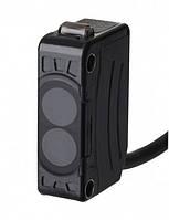 Фотоелектричний датчик 15 мм прозорі, напівпрозорі та непрозорі об'єкти, NPN, 12-24 VDC