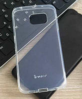 Прозрачный чехол-накладка iPaky для Samsung Galaxy S6 Edge G925