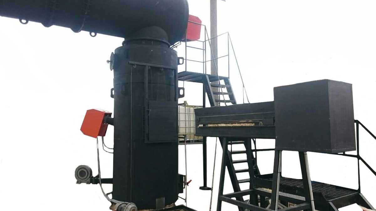 Утилизатор органических отходов УТ500.1ДП (150-250 кг/ч) медицинский