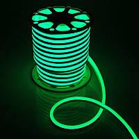 Светодиодный неон Biom SMD2835, зеленый, 120шт/м, 10W/m, IP65, 12V