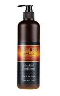 Кондиционер  увлажняющий с маточным молочком Argan De Luxe Professional Jalea Real Conditioner, 500 ml