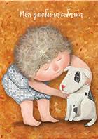 АМ -7. Схема для вишивки бісером ТМ Гапчинська Моя улюблена собачка afdd5765e1858