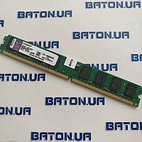 Оперативная память Kingston DDR2 2Gb 800MHz PC2 6400U LP CL6, фото 1