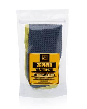 Полотенце для очистки стекол Work Suff Zephyr Waffle, фото 2
