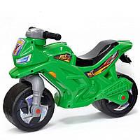 Мотоцикл 2-х колесный музыкальный 501G Зеленый