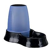 Миска с дозатором для воды и корма Trixie пластиковая 600 мл (в цветовом ассортименте), TX-24761