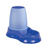 Миска с дозатором универсальная Trixie пластиковая 1,5 л (в цветовом ассортименте), TX-24762
