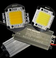 Ремкомплекти: матриці і драйвери для світлодіодних (LED) світильників і прожекторів