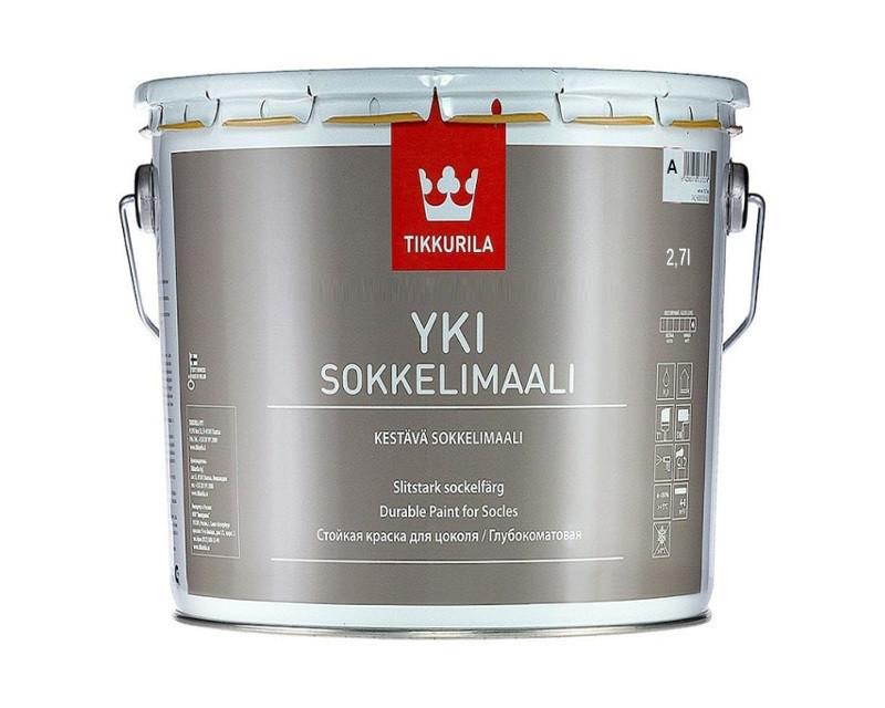 Фарба для цоколя Tikkurila YKI (Юкі) 2,7л (A)