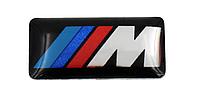 """Декоративные наклейки в диски или руль для BMW в стиле """"M"""""""