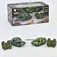 Танковый бой 33820 на  р/у с аккумулятором 3.6V, в коробке
