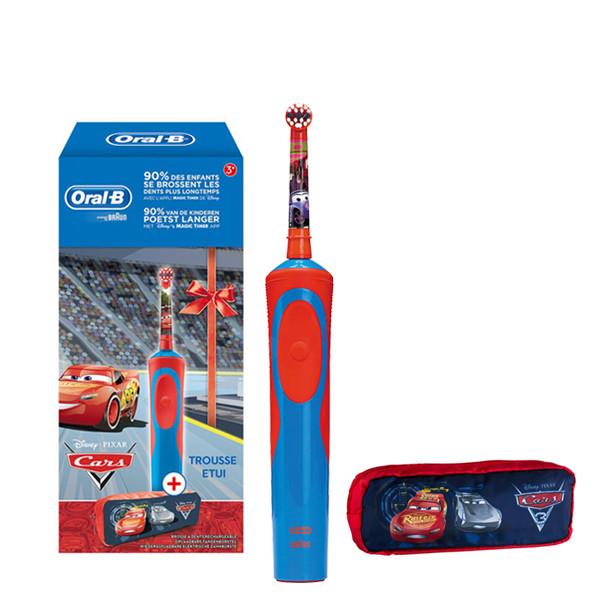 Електрична зубна щітка дитяча Braun Oral-B Stages Power D12.513K Cars Тачки  з Пеналом 630db518ed4c8