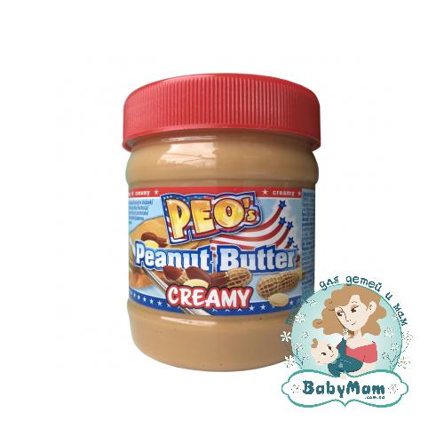 Арахисовое масло PEO`s Peanut Butter Creamy, 340г