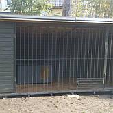 Вольер с тамбором и кормушкой для собак. В наличии и под заказ. Киев, фото 2
