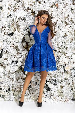 Вечерние платье с фатиновым подъюбником , фото 2