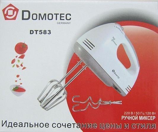 Ручний міксер Domotec DT-583 CG14