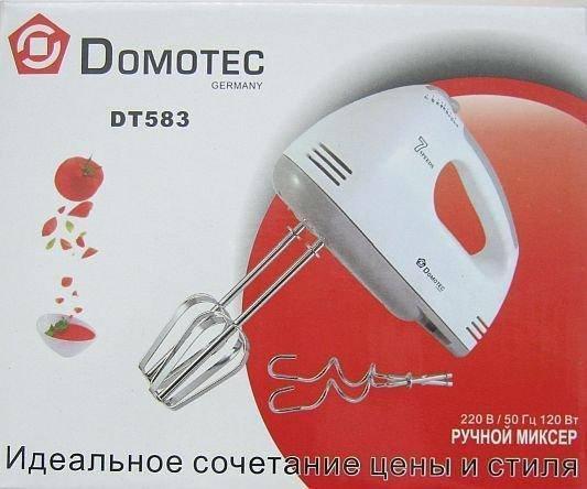 Ручний міксер Domotec DT-583 CG14, фото 2