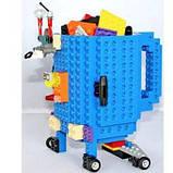 Чашка/Кружка конструктор Lego брендовая Голубая 400 мл, фото 2