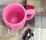 Чашка/Кружка конструктор Lego брендовая Голубая 400 мл, фото 10