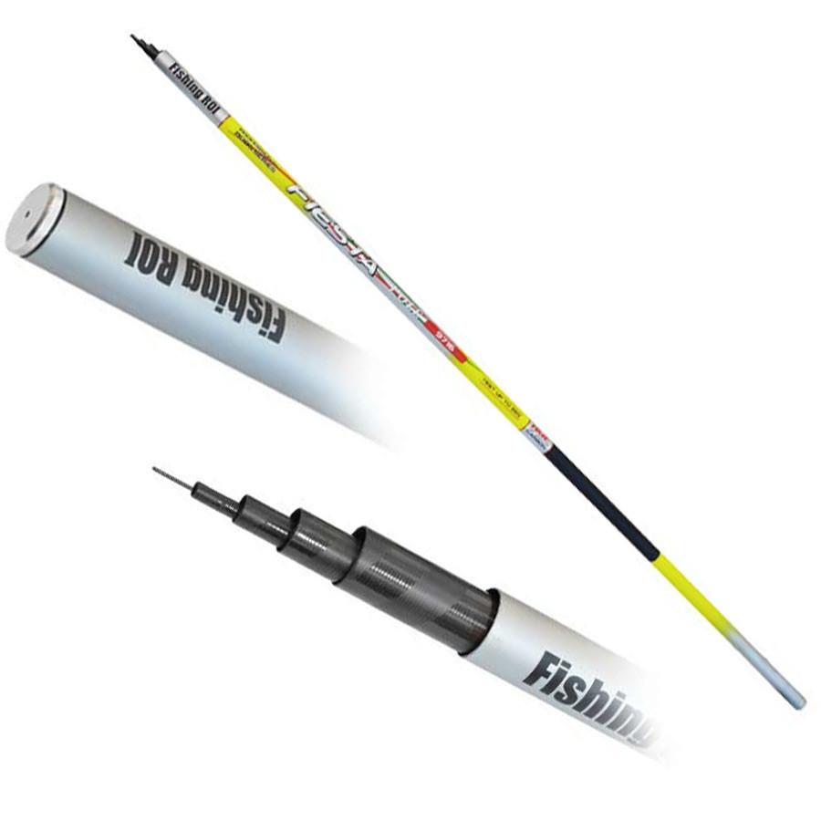 Удочки для рыбалки телескопическая без колец
