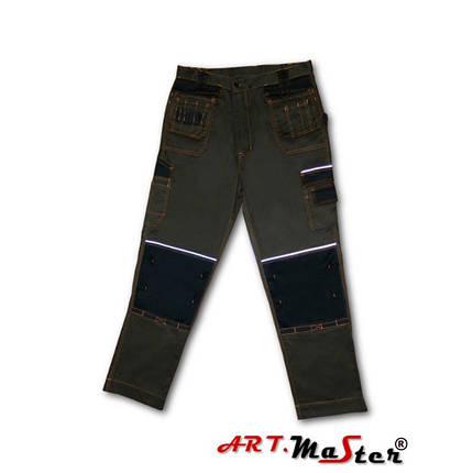 Брюки рабочие  ARTMAS цвета хаки Spodnie MONTER khaki, фото 2