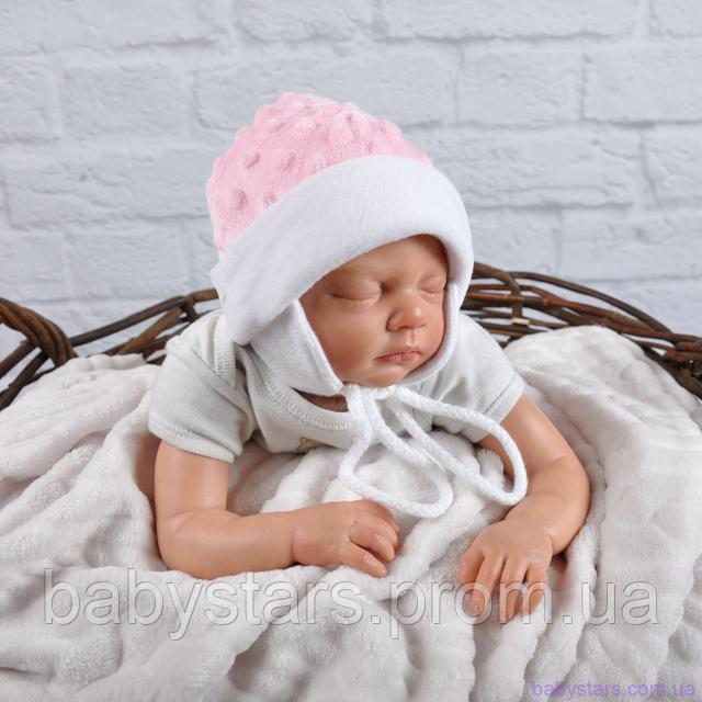 Детские шапочки для новорожденных фото 3