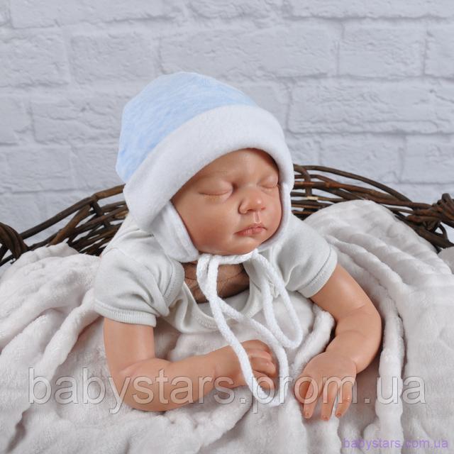 Детские шапочки для новорожденных фото 4