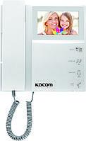 Комплект KOCOM KCV-464 и панель вызова AVP-05