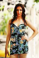 Платье женское цветы 87