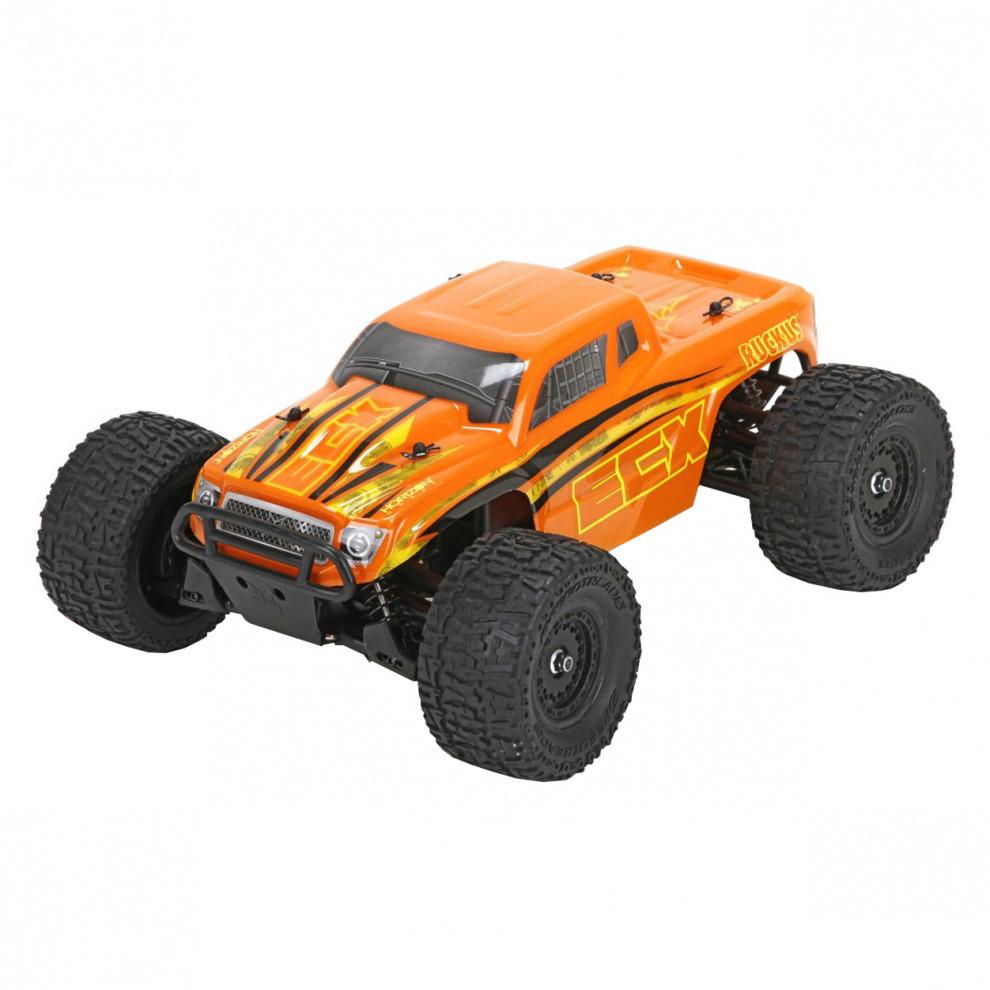 Автомобиль ECX Ruckus Monster 1:18 RTR ECX01000T2