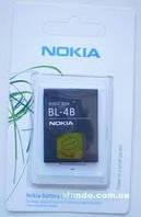 Аккумуляторная батарея Nokia BL-4B (оригинал).Аксессуары для мобильных телефонов.