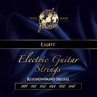 Струны для электрогитары FRAMUS 45200 BLUE LABEL LIGHT (09-42)