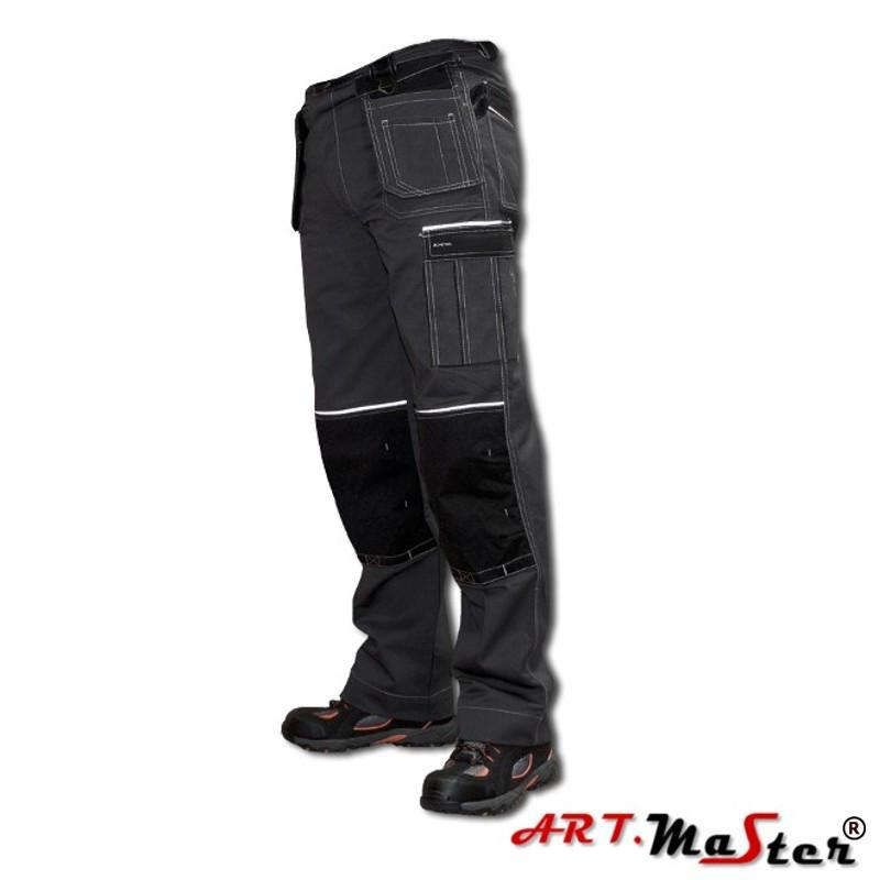 Брюки рабочие ARTMAS серего цвета Spodnie MONTER grey