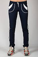 Спортивные штаны женские (темно-синие)