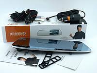Зеркало заднего вида с видеорегистратором Vehicle black DVR A23