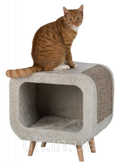Trixie TX-44430 домик - когтеточка Алисия для кота 48×48×38 см