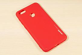 TPU чехол накладка Smitt для Huawei Y6 Pro / Nova Lite 2017 (Красный)