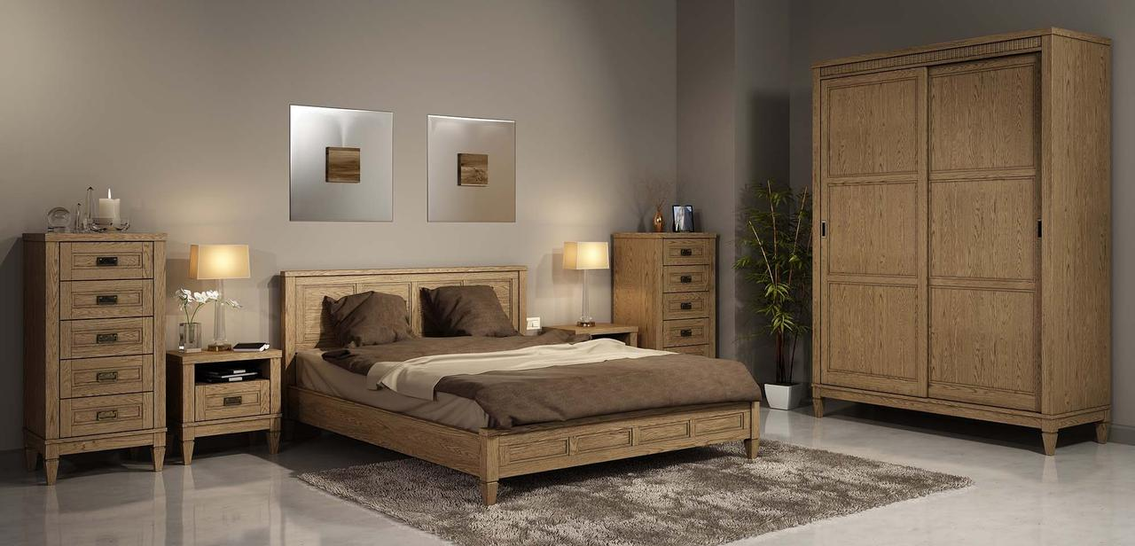 Спальня Бавария 2Д купе Мебус