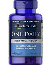 Puritan's Pride One Daily Men's Multivitamin 100 таб. Витамины для мужчин.