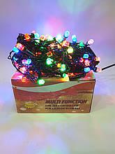 Новогодняя гирлянда Штора 120 ламп Цветная