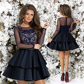 Вечерние платье с вышивкой , фото 2