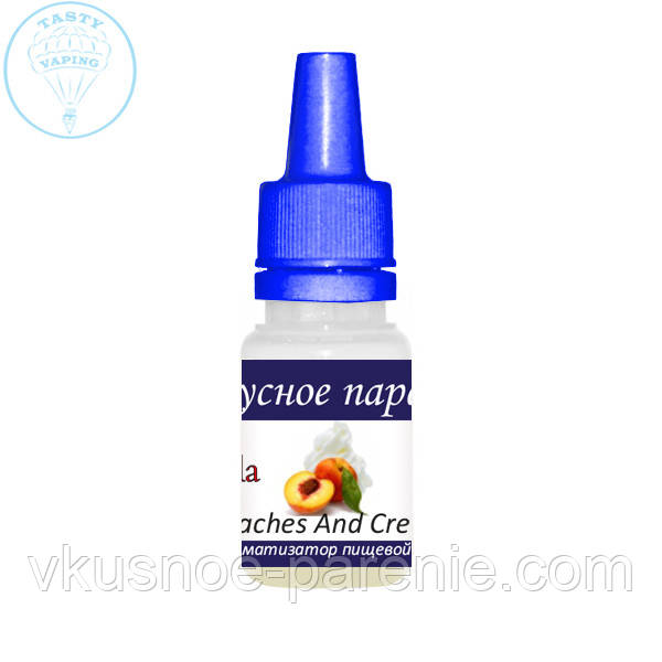 Ароматизатор Peaches And Cream (Персик со сливками) Capella 5 мл